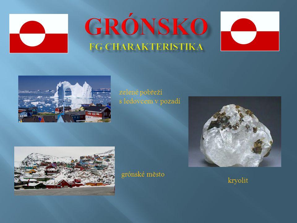 polární záře v Grónsku