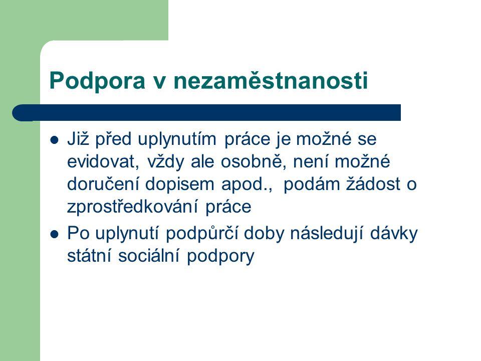 Veřejná služba Podmínky: po 2 měsících v evidenci // sankční vyřazení Nález Pl.