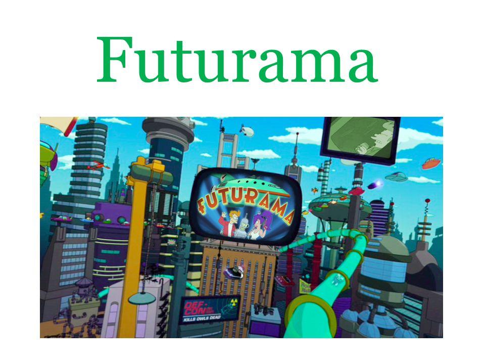 Futurama je americký animovaný seriál, který vytvořili Matt Groening a David X.