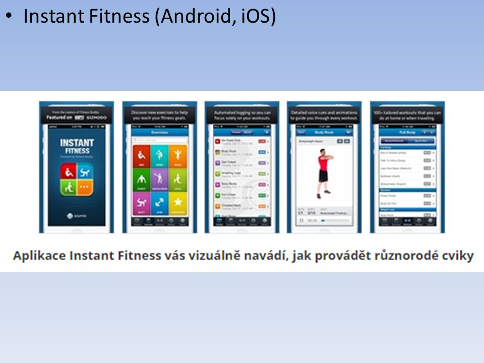 Instant Fitness (Android, iOS)