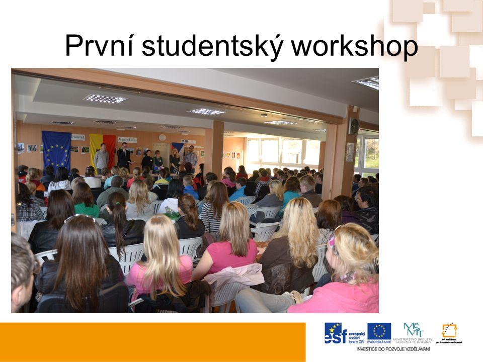 První studentský workshop