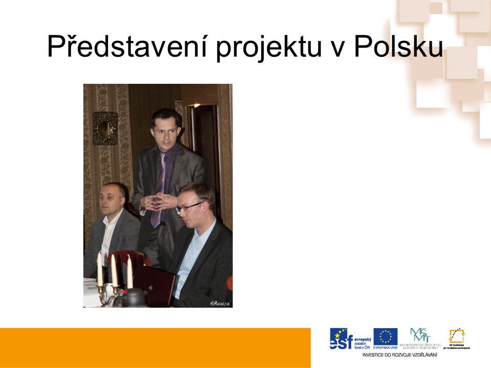 Představení projektu v Polsku