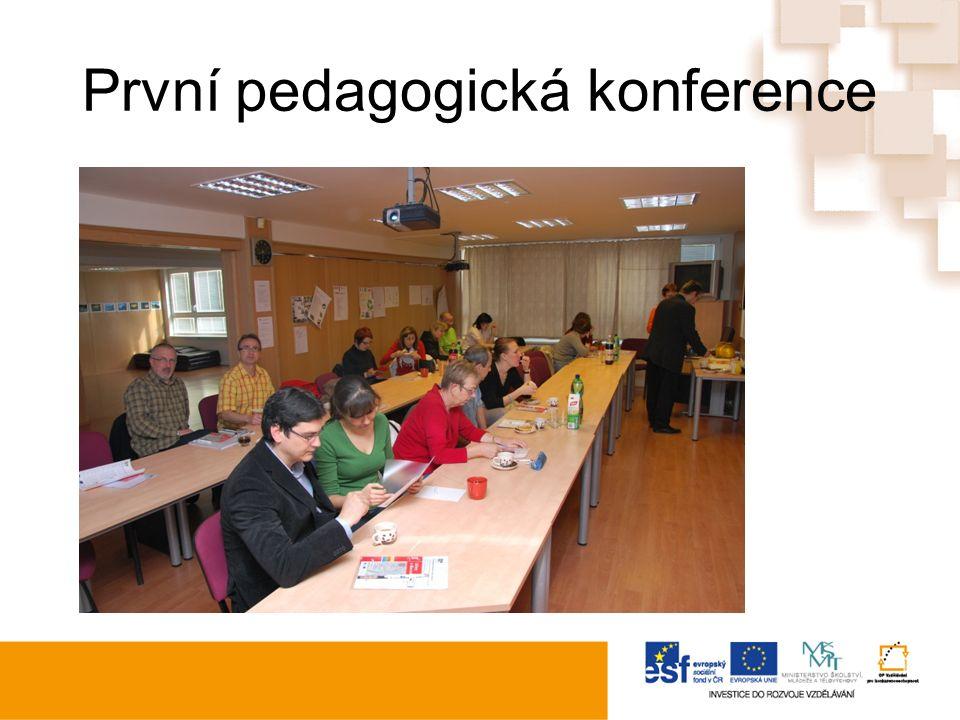 První pedagogická konference