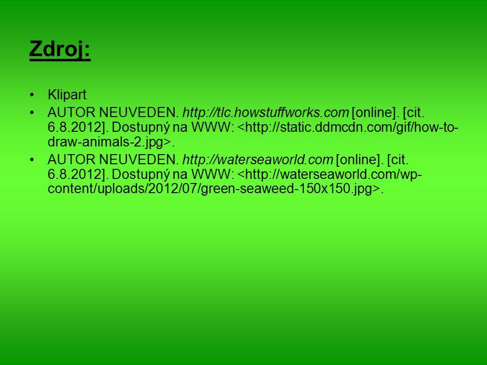 Zdroj: Klipart AUTOR NEUVEDEN. http://tlc.howstuffworks.com [online].