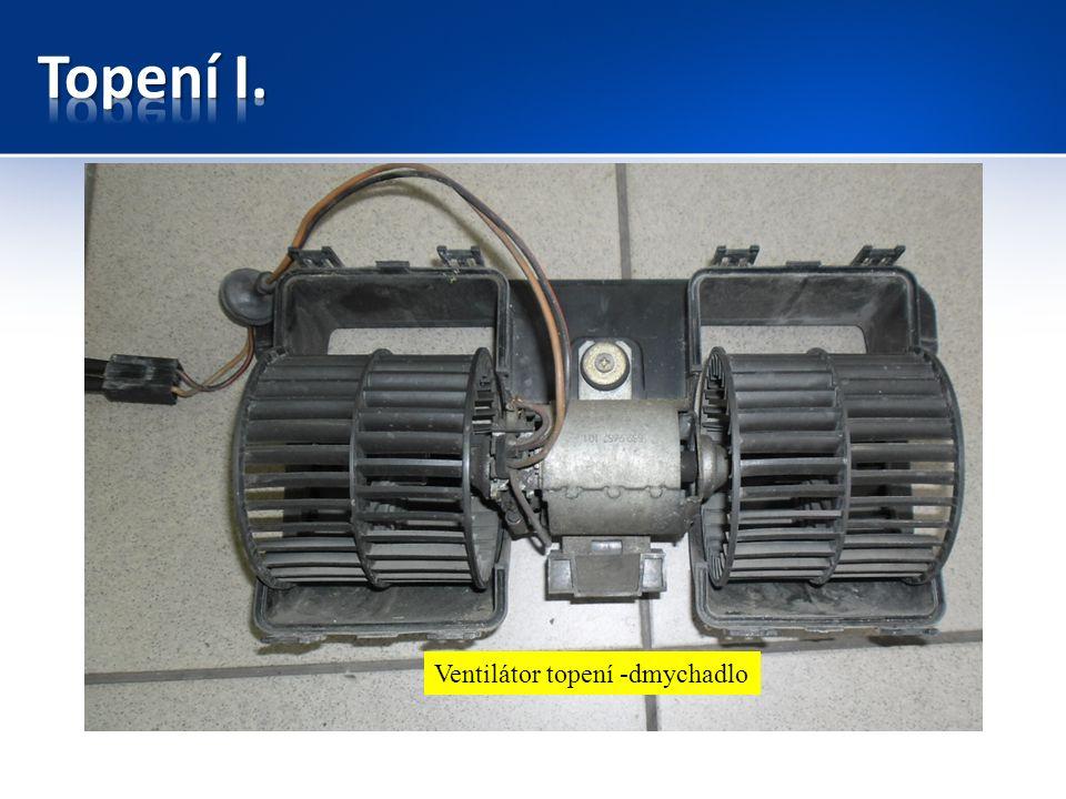 Ventilátor topení -dmychadlo