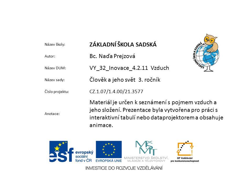 Použité zdroje a materiály: Obrázky z galerie Klipart ŠTIKOVÁ, Věra.