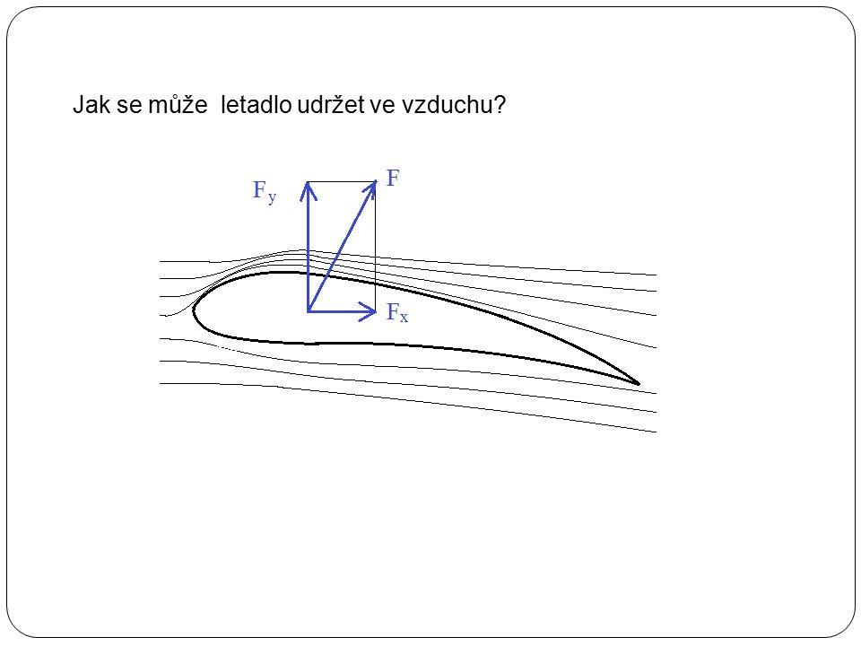 Jak se může letadlo udržet ve vzduchu?