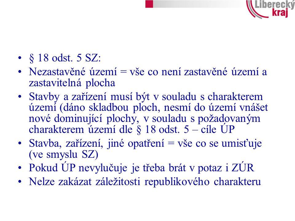 § 18 odst.