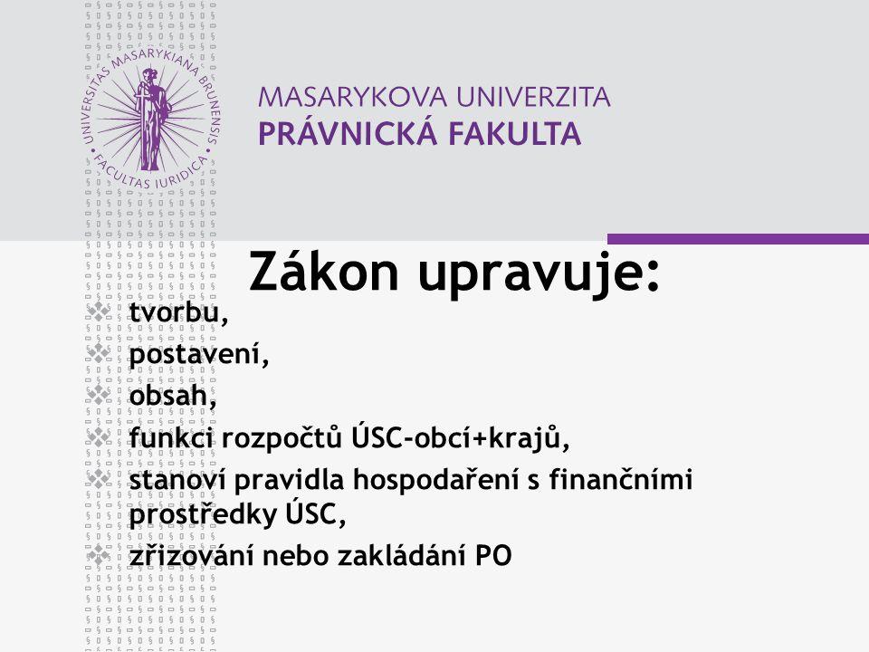 www.law.muni.cz Při správě odvodů a penále se postupuje podle zákona upravujícího správu daní.