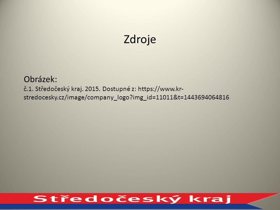 Zdroje Obrázek: č.1.Středočeský kraj. 2015.