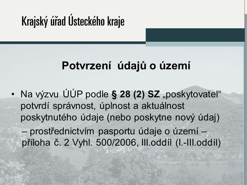 3) podle obdržených aktualizací údajů o území ÚÚP upraví ÚAP (podklady pro rozbor URÚ a samotný rozbor URÚ).