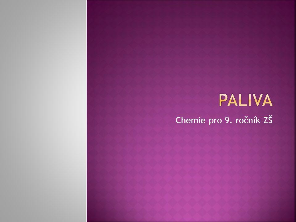 Chemie pro 9. ročník ZŠ