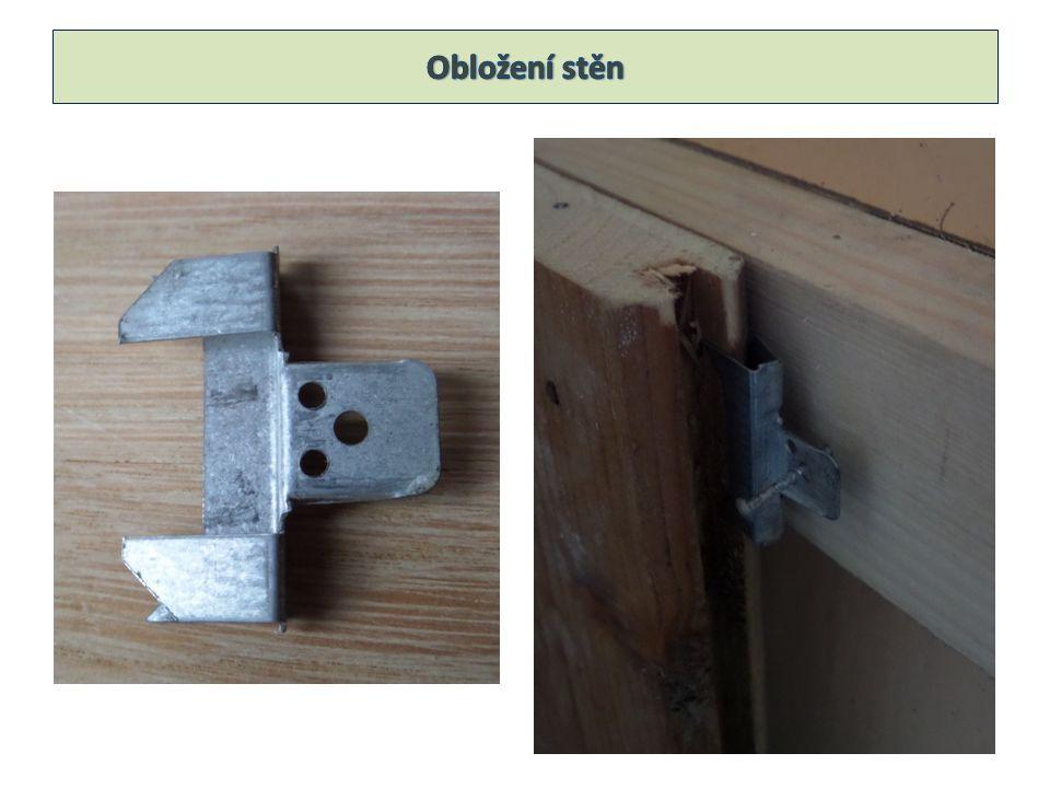 Palubky se ke konstrukci přibíjí kolářskými hřebíčky (vágnerky) nebo kovovými profilovanými sponky v místech spár.