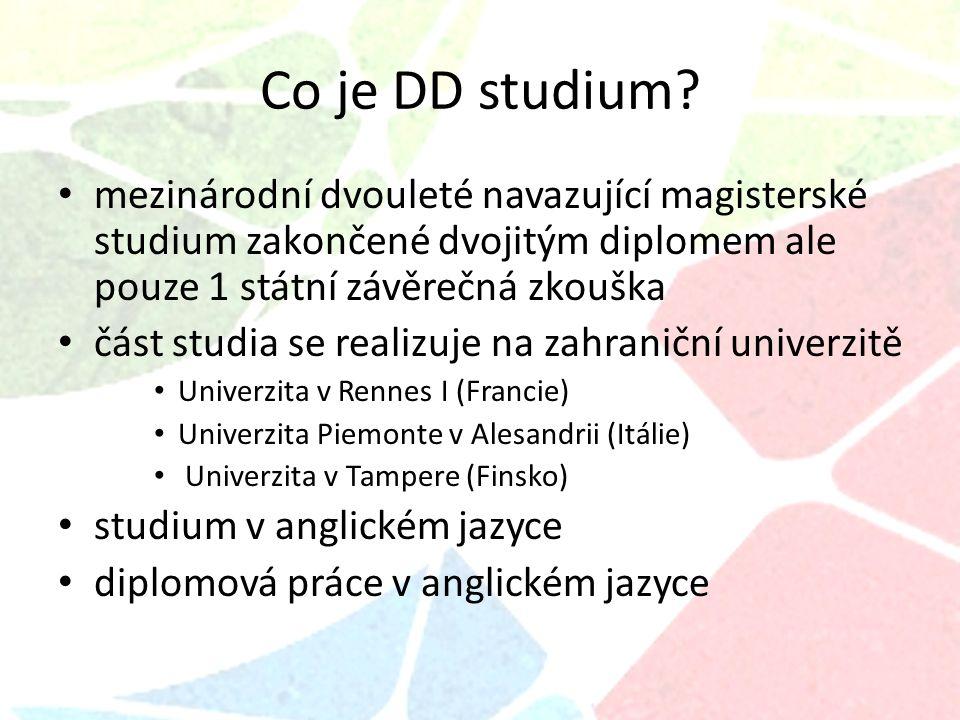 Kde můžete studovat DD program ?