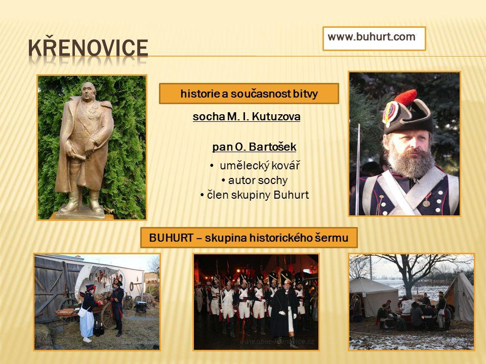 BUHURT – skupina historického šermu historie a současnost bitvy socha M.