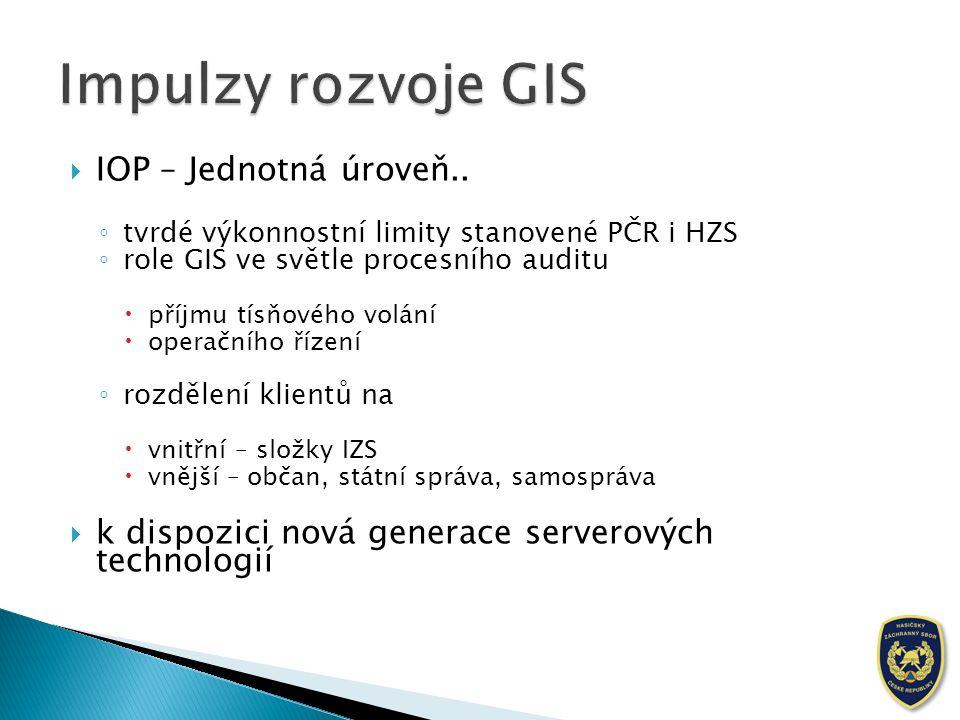  IOP – Jednotná úroveň..