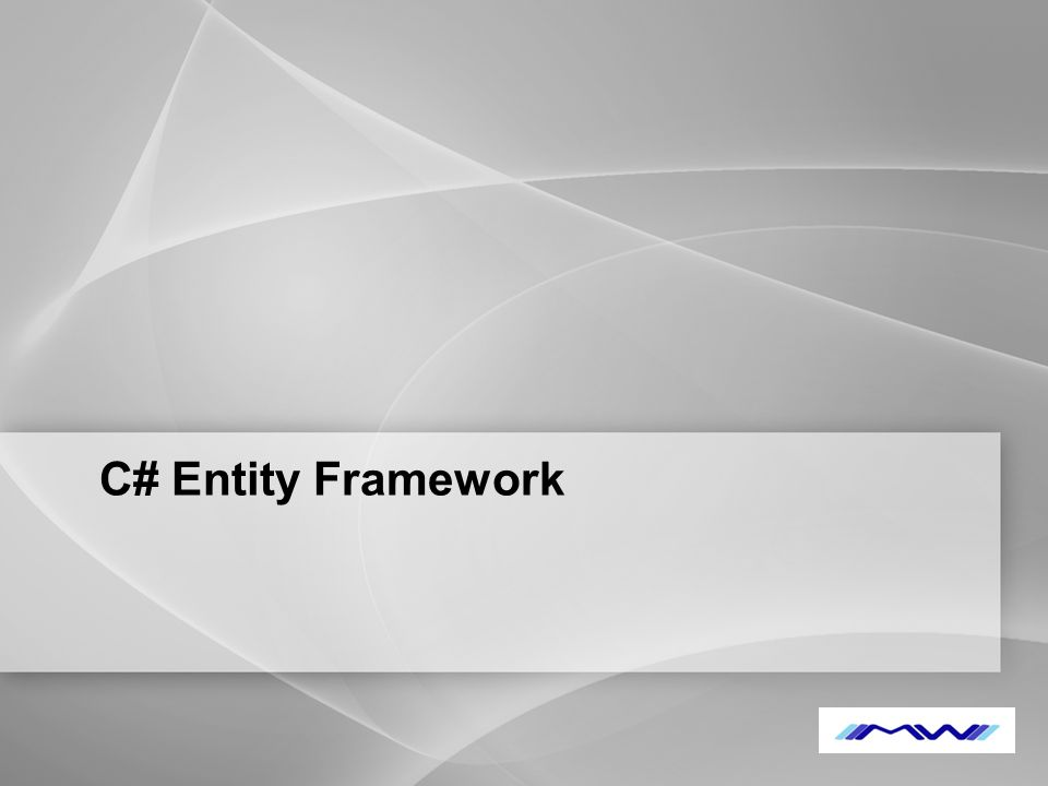 YOUR LOGO C# Entity Framework