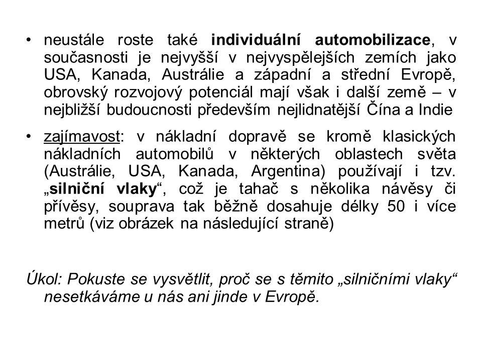 """""""Silniční vlak Zdroj: [3]"""