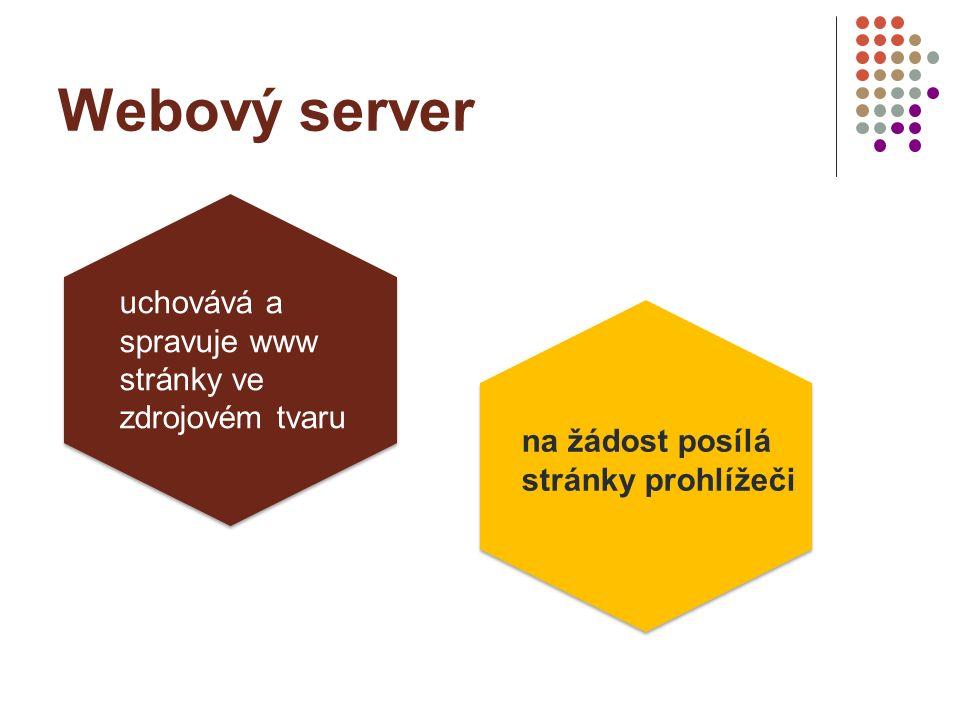 Protokol HTTP (HTTPS) umožňuje prohlížečům získávat WWW stránky Hypertext transfer protocol (secure)