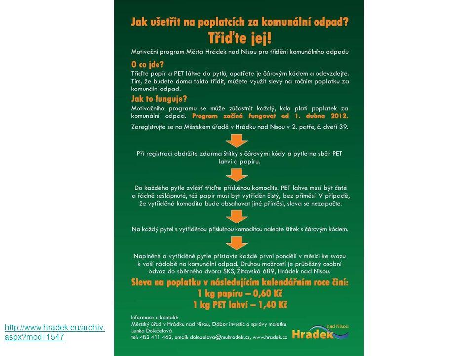 Podpora meziobecní spolupráce http://www.hradek.eu/archiv. aspx?mod=1547