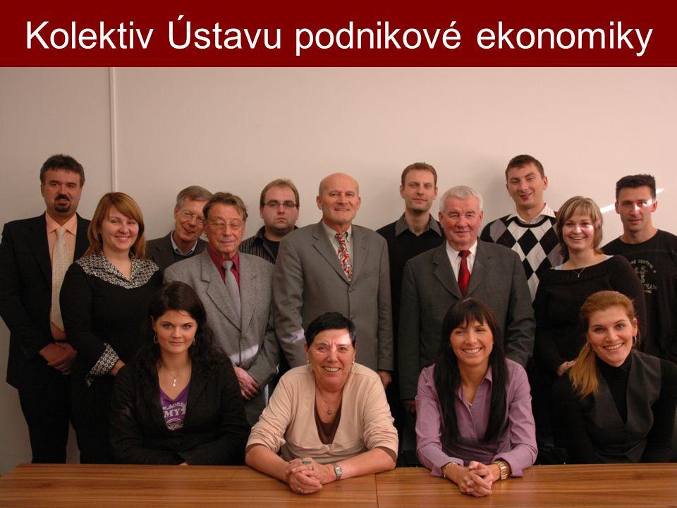 Kolektiv Ústavu podnikové ekonomiky