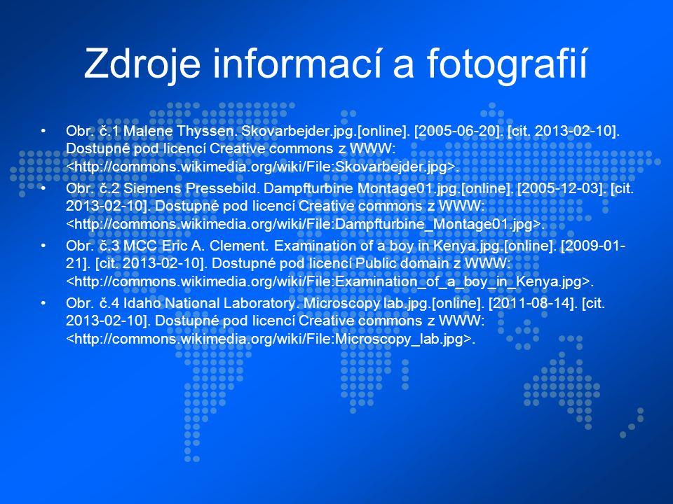 Zdroje informací a fotografií Obr. č.1 Malene Thyssen.