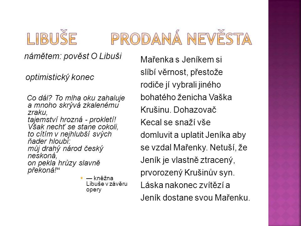celkem 6 částí  Vyšehrad  Vltava  Šárka  Z českých luhů a hájů  Tábor  Blaník