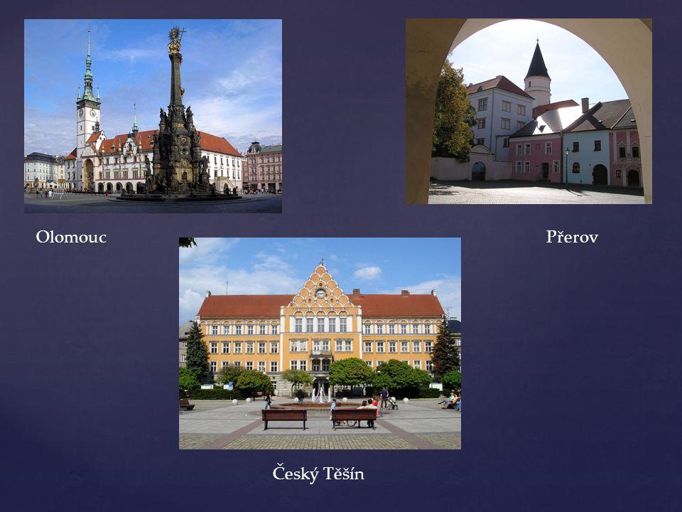 OlomoucPřerov Český Těšín