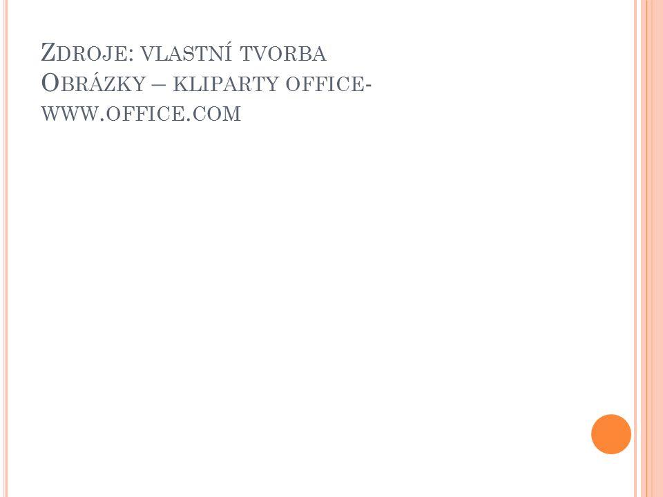 Z DROJE : VLASTNÍ TVORBA O BRÁZKY – KLIPARTY OFFICE - WWW. OFFICE. COM