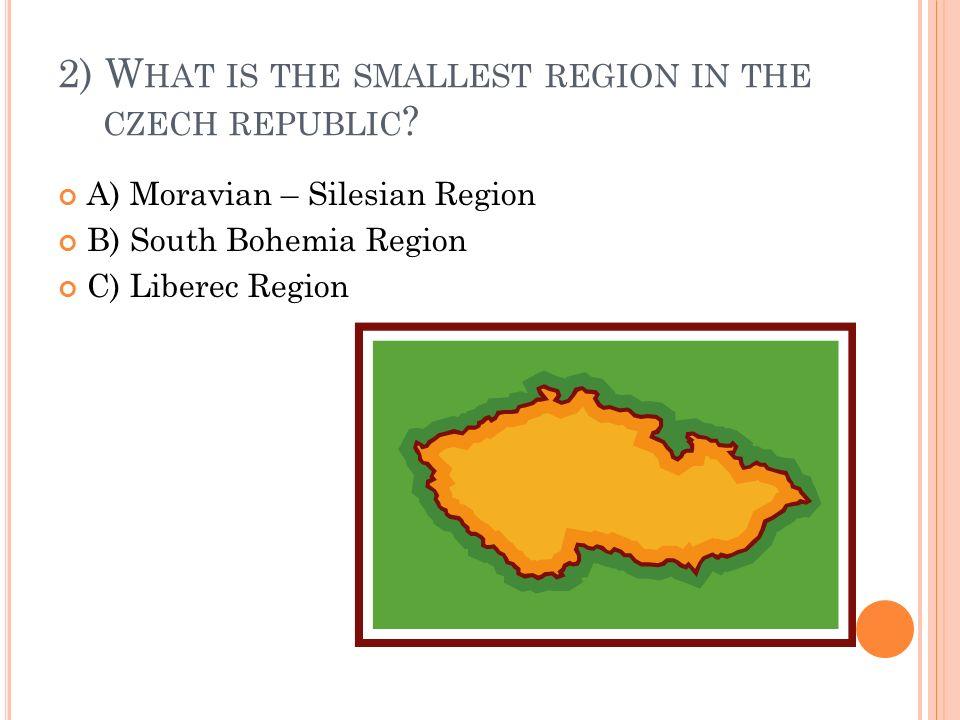 3) W HAT IS THE LONGEST RIVER IN THE C ZECH R EPUBLIC .