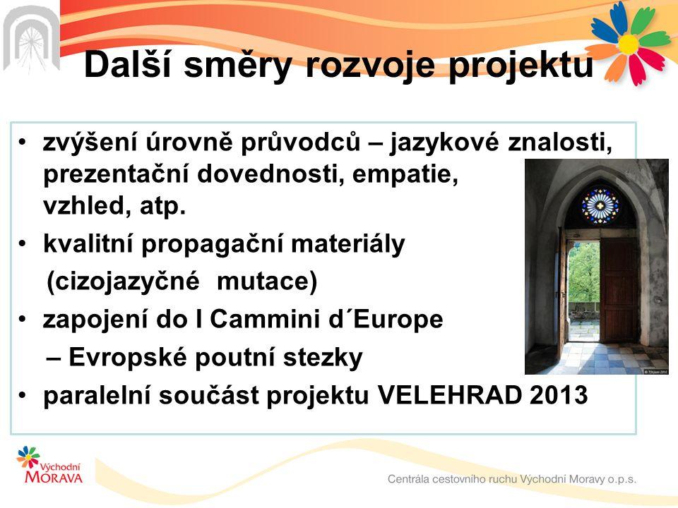 Poutní turistika na Východní Moravě Centrála cestovního ruchu Východní Moravy, o.