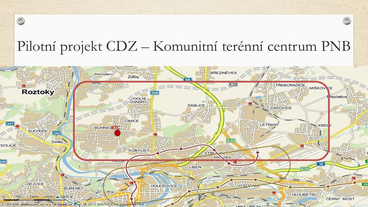 KTC Pilotní projekt CDZ – Komunitní terénní centrum PNB