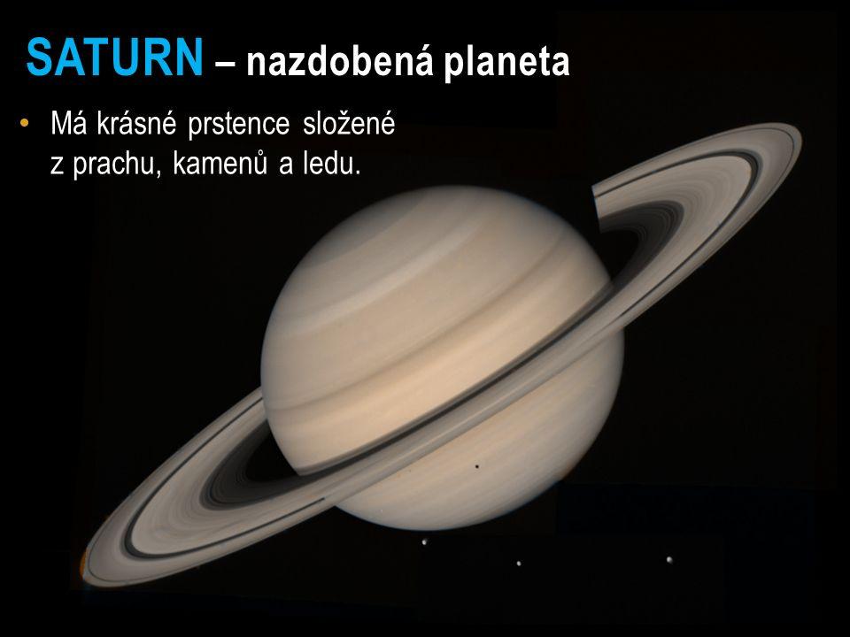 JUPITER – pruhovaný obr Největší planeta sluneční soustavy.