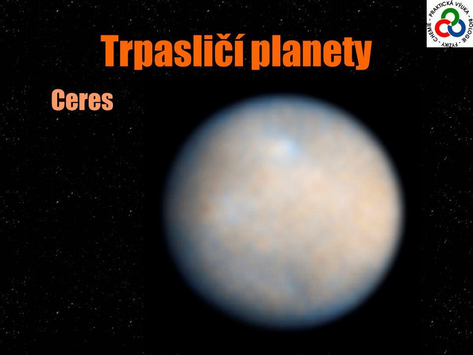 Trpasličí planety Ceres