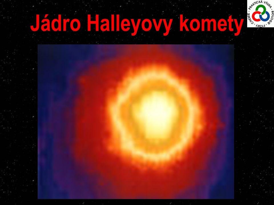 Jádro Halleyovy komety