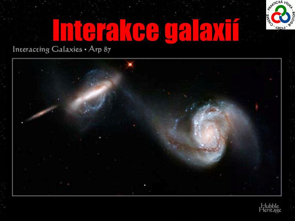 Interakce galaxií