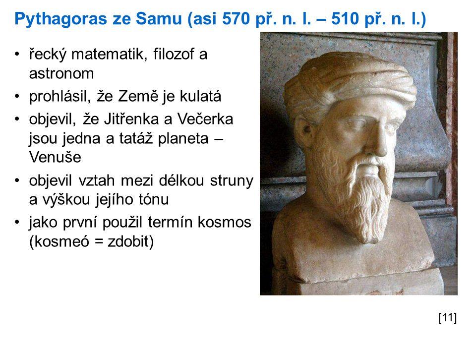 Pythagoras ze Samu (asi 570 př. n. l. – 510 př.