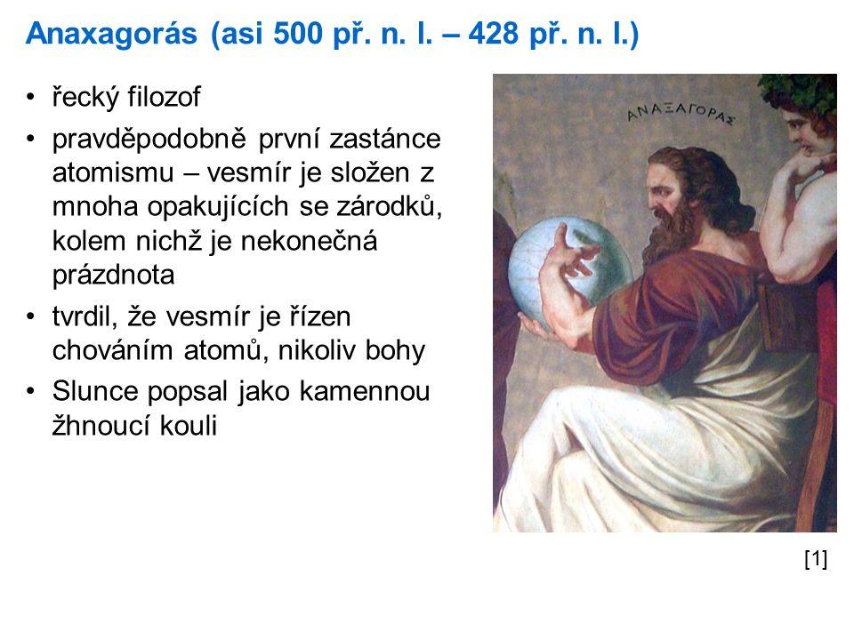 Anaxagorás (asi 500 př. n. l. – 428 př. n.