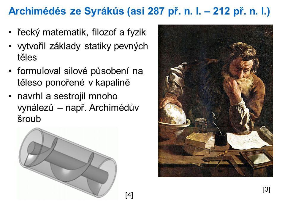 Archimédés ze Syrákús (asi 287 př. n. l. – 212 př.