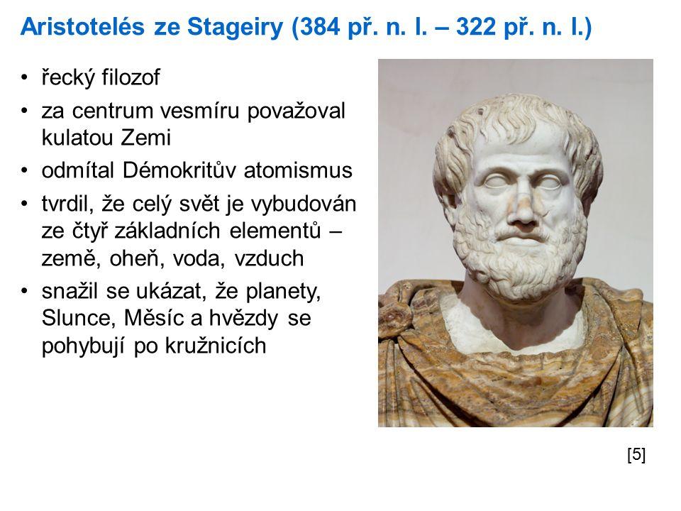 Aristotelés ze Stageiry (384 př. n. l. – 322 př.
