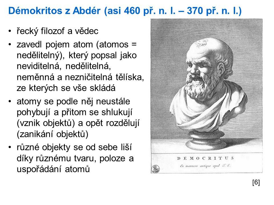 Démokritos z Abdér (asi 460 př. n. l. – 370 př.