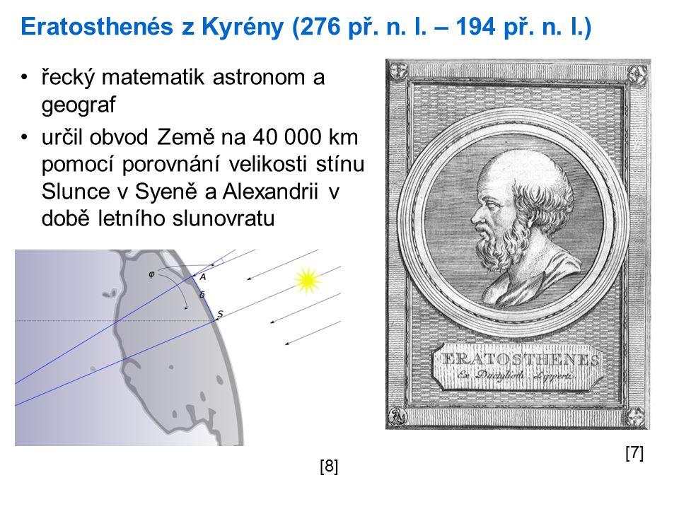 Eratosthenés z Kyrény (276 př. n. l. – 194 př. n.