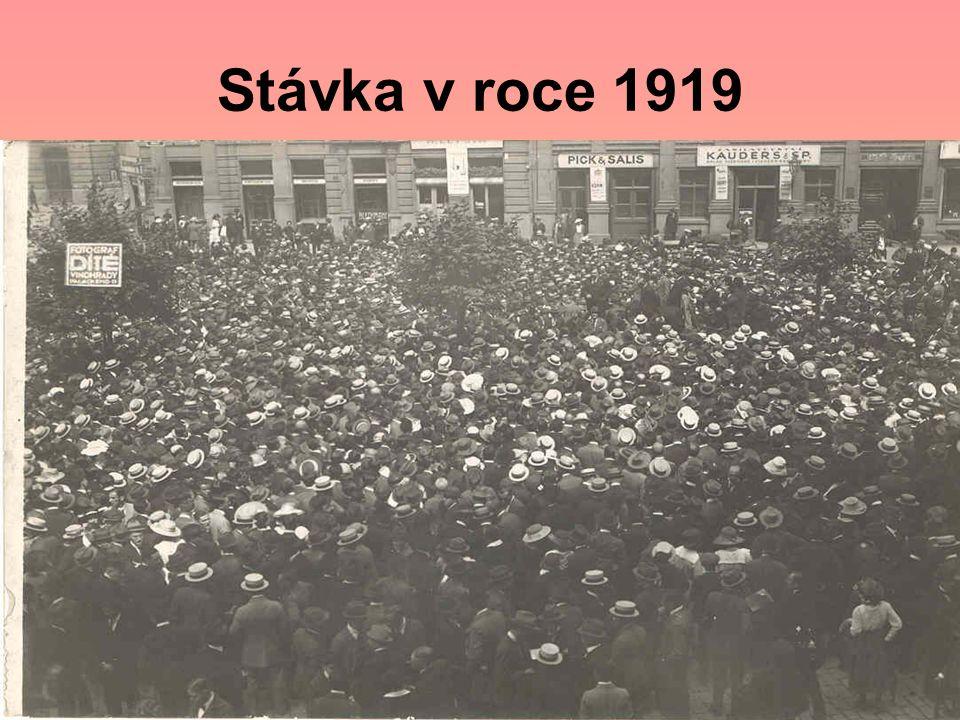 Stávka v roce 1919