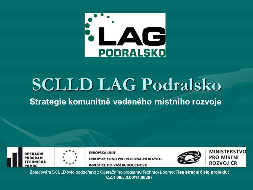 SCLLD LAG Podralsko Zpracování SCLLD bylo podpořeno z Operačního programu Technická pomoc Registrační číslo projektu: CZ.1.08/3.2.00/14.00287 Strategie komunitně vedeného místního rozvoje