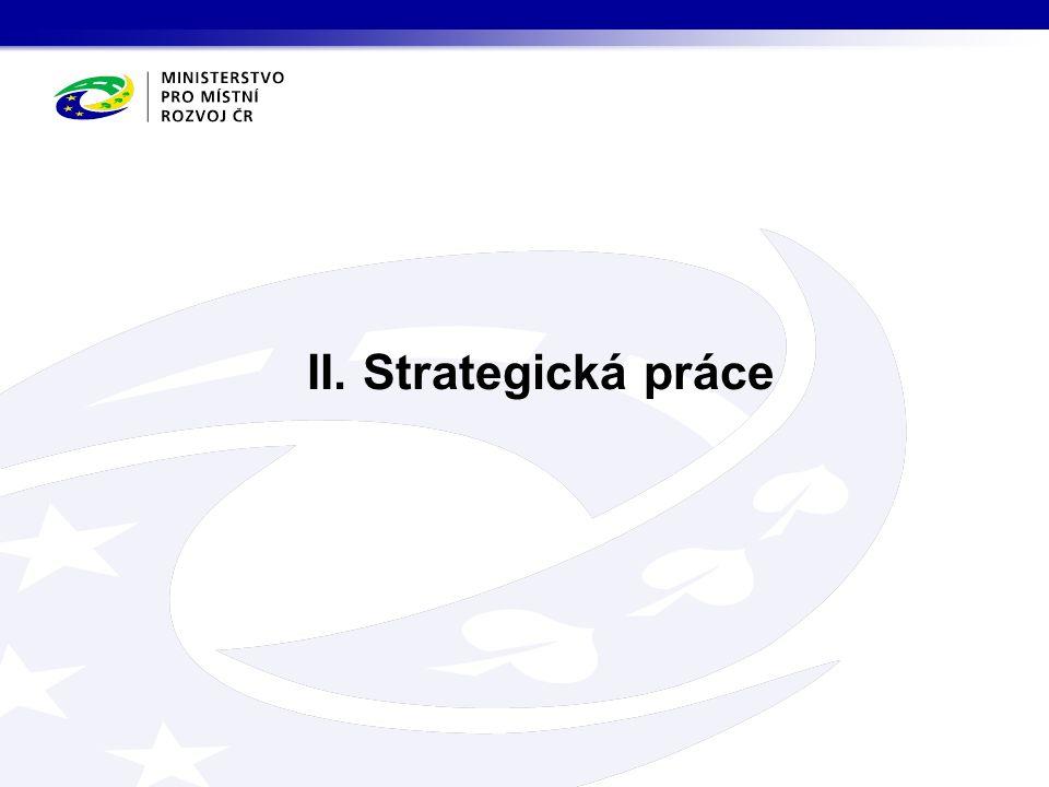 II. Strategická práce