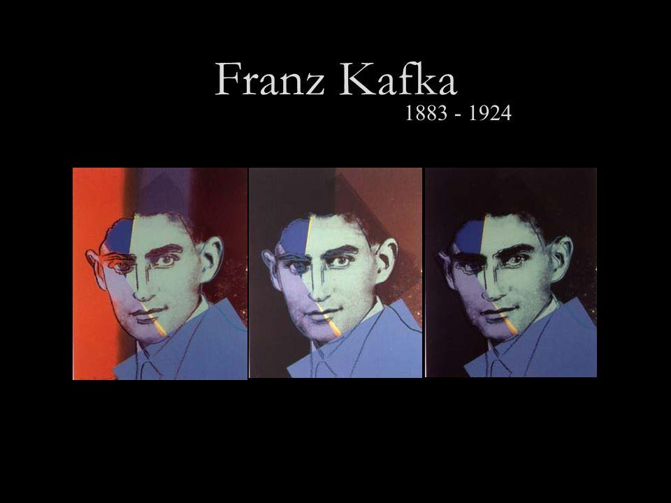 Franz Kafka 1883 - 1924
