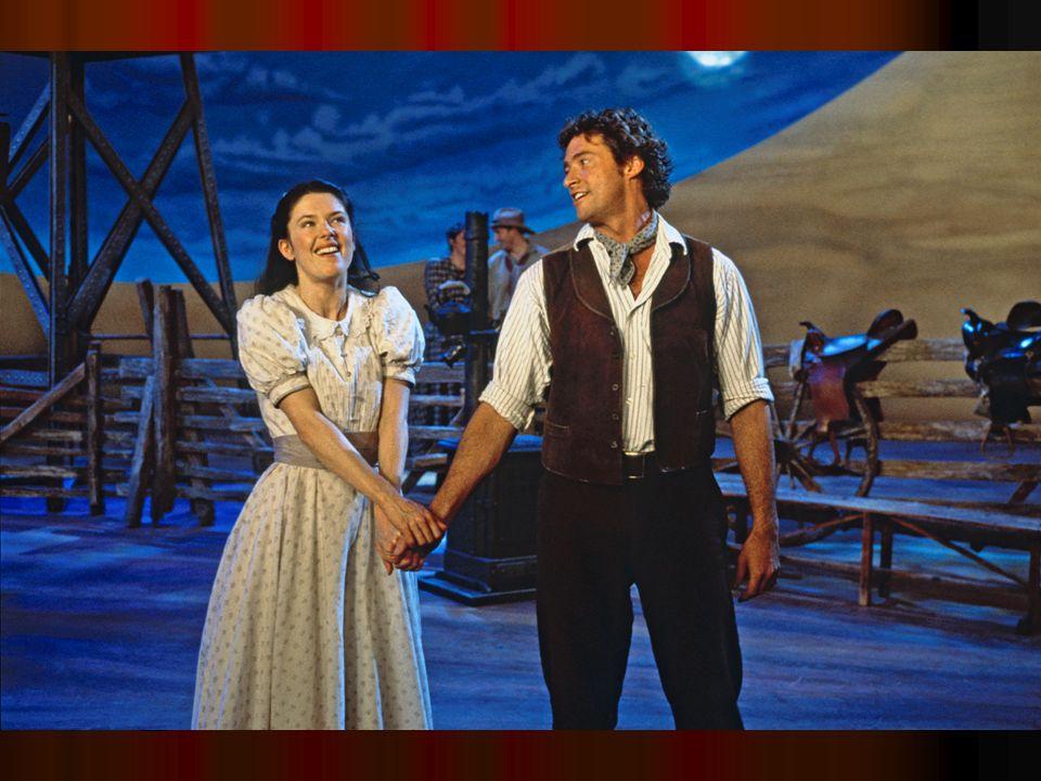 West Side Story (1957) Leonard Bernstein – Stephen Sondheim Leonard Bernstein – Stephen Sondheim Moderní variace Romea a Julie Moderní variace Romea a Julie Zřejmě vrchol muzikálové sevřenosti a integrace – tanec jako klíčový výrazový prostředek Zřejmě vrchol muzikálové sevřenosti a integrace – tanec jako klíčový výrazový prostředek Muzikál jako hudební tragédie Muzikál jako hudební tragédie Začíná epochu velkých muzikálových dramat 60.