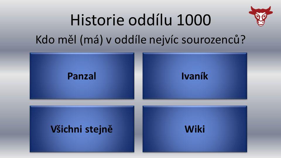 Historie oddílu 4000 Řecko V jaké zemi oddíl nikdy nebyl? Srbsko Turecko Slovinsko