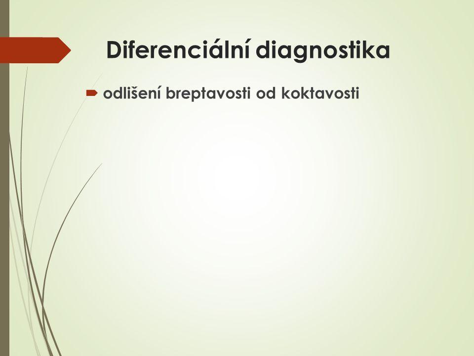 Diferenciální diagnostika  odlišení breptavosti od koktavosti