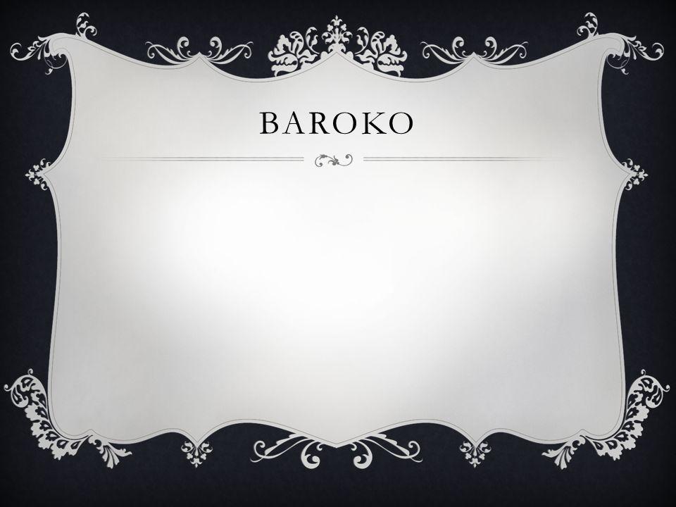 Číslo projektu CZ.1.07/1.4.00/21.1405 Název sady materiálů Výtvarná výchova Název materiálu VY_32_INOVACE_10_baroko Autor Křivonosková Kateřina